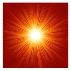 矢量阳光放射光线背景