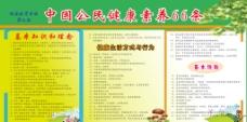 中国公民健康素养展板图片