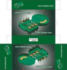 高尔夫 玩具彩盒图片