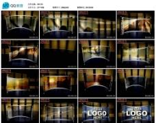 透明大屏幕视频AE模版