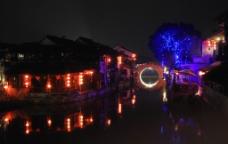 夜晚景观图片
