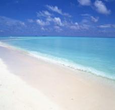 沙滩大海图片
