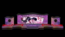 舞台背景效果图设计图片
