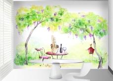 墙贴 装饰画图片