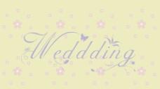 wedding艺术字图片
