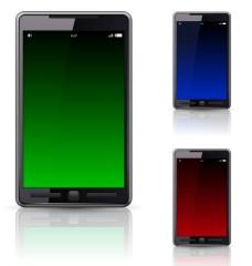 精美智能手机矢量素材