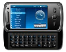 经典智能手机矢量素材