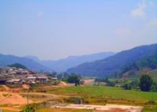 山乡景象图片