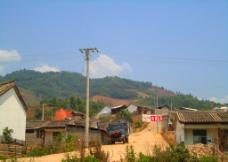 山村景象图片