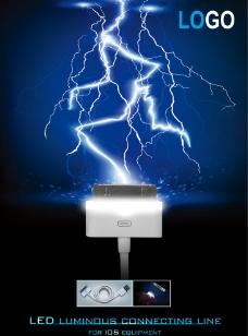 电子产品海报设计图片