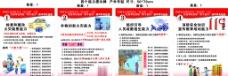 社会单位消防四个能力建设宣传挂画图片