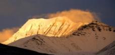 喜马拉雅的金山上图片