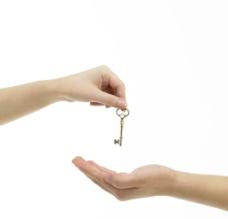钥匙 成交房子图片