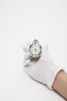 看时间 怀表图片