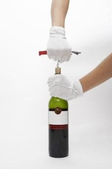 开葡萄酒 开酒器图片