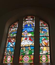 教堂花玻璃图片