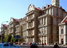 海河东岸欧式公寓建筑图片