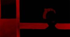 黑红画映图片