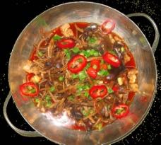干锅茶树菇图片