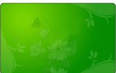 绿色花朵图片