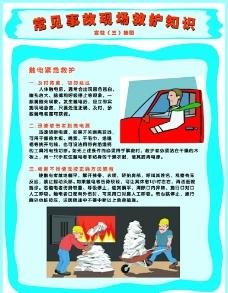 常见事故现场救护知识图片