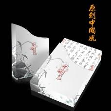 古典中国风包装 (平面图)图片