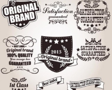 欧式质量徽章 花纹 标签图片