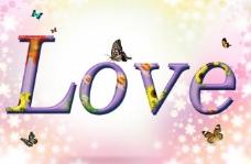 love 艺术字图片