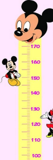 米老鼠卡通尺子图片