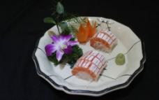 三文鱼腹刺身图片