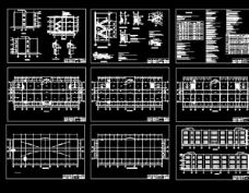 某办公楼工程图纸图片