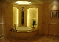 威尔斯仿古设计卫生间图片