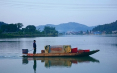 山水 梅江风景图片