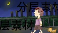 CG卡通人物场景绘图图片