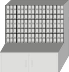 车间柜子图片