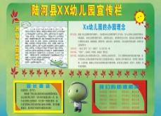 幼儿园宣传栏图片