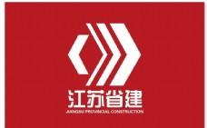 江苏省建标志旗 江苏省建旗帜 江苏省建矢量标志logo