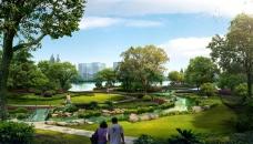 城市公园效果图图片