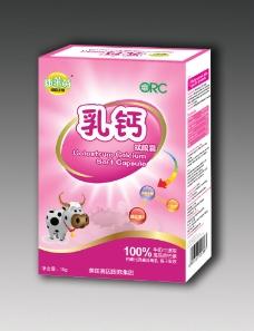 儿童乳钙包装 (注展开图)图片