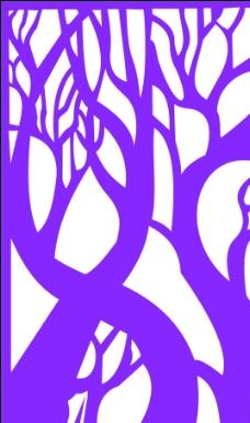 树的雕花图片