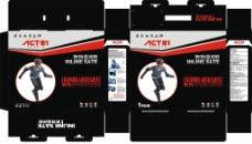 溜冰鞋彩盒包装图片