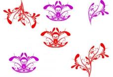 古典花纹笔刷图片