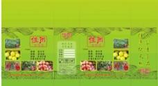 农业合作社包装盒图片