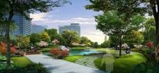 城市绿色公园