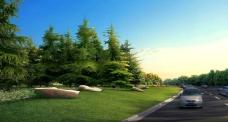 城市野外公路公园
