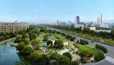 城市住宅配套花园