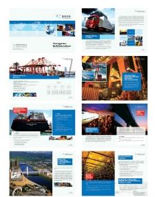 物流公司画册图片
