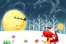 圣诞节插图图片
