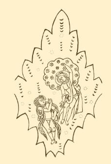 石窟壁画图片