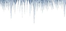 冰柱背景图片